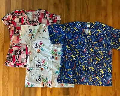 Lot of Scrubs Tops, size S