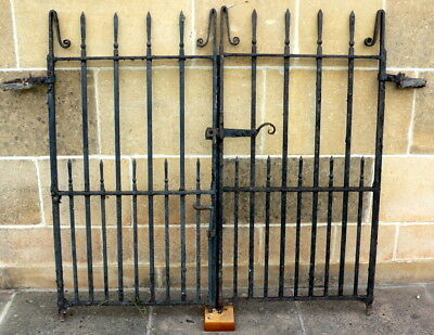 VICTORIAN GATES AND RAILING ( in City of Bath) Workshop clearout.