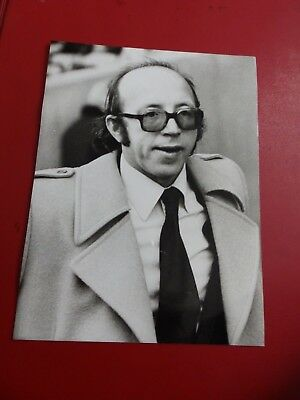 Press photo Nobby Stiles, Manager, Preston North End 1980