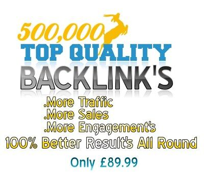 500,000 Backlink's To Success