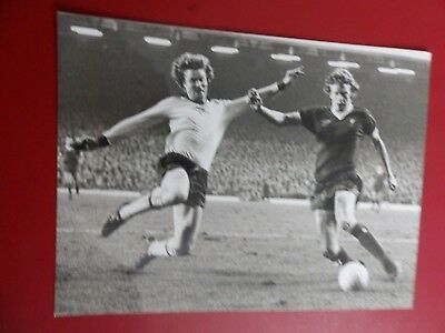 Press photo Willie Young, Arsenal & David Fairclough, Liverpool 1978