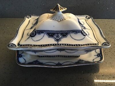Keeling & Co Antique NAPIER Pattern Serving Dish