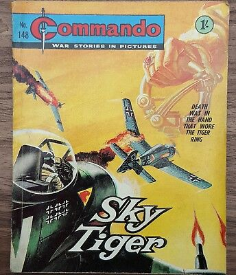 Vintage Commando comic issue #148