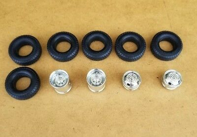 Amt 1/25 1996 Dodge Ram Dually Pickup Wheels And Tires