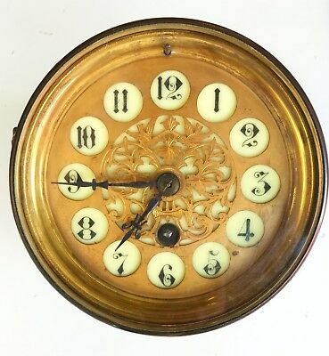 A French Clock Movement With Supurb Dial