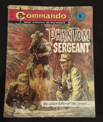 Vintage Commando comic issue #81