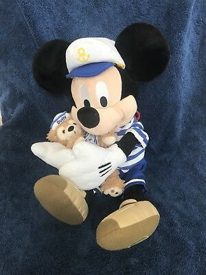 Large Plush Mickey Mouse With Duffy