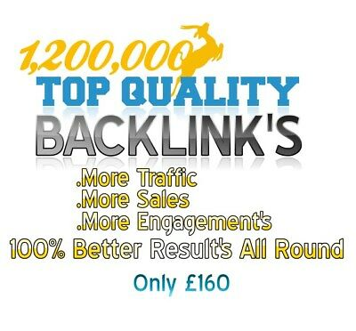 1,200,000 Backlink's To Success