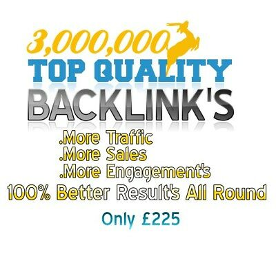 3,000,000 Backlink's To Success