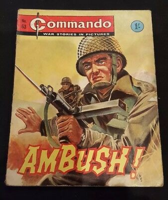 Vintage Commando comic issue #63