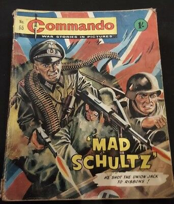Vintage Commando comic issue #65