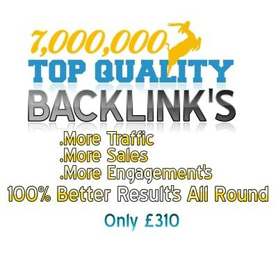 7,000,000 Backlink's To Success