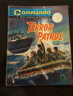 Vintage Commando comic issue #66