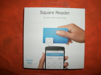 Square Credit Card Reader Electronic Reading Device iPhone Android Tablet New !