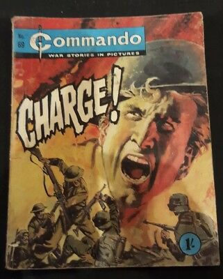 Vintage Commando comic issue #69