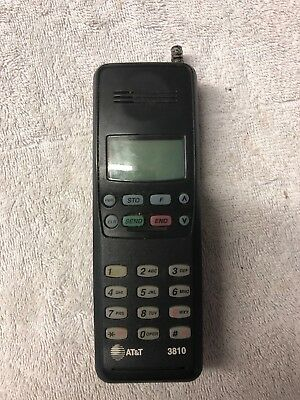 AT&T Cell Phone Vintage Model 3810 Type