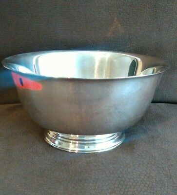 Paul Revere Reproduction Oneida Silver Plate bowl Heavyweight 15.5cm