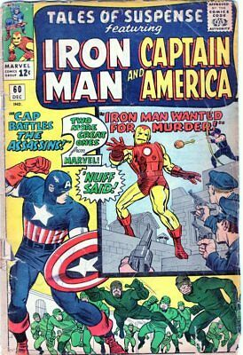 Tales Of Suspense #60   - 2Nd Appearance Of Hawkeye - Iron Man (1964)