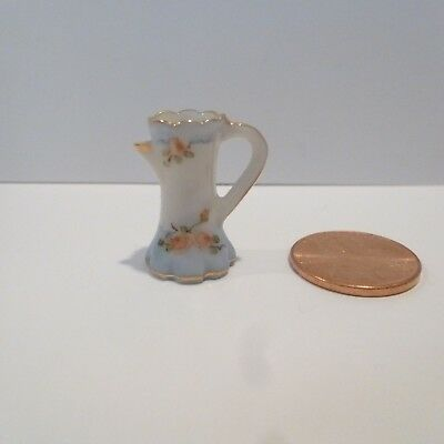 Jo Parker Miniature Porcelain Pitcher   Signed
