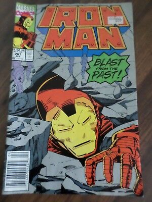 Marvel Comics - Iron Man - #267 Blast from the Past