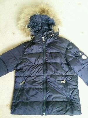 Boys beautiful warm and cosy winter coat from Moncler aged 8 in great condition