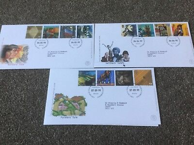 Job Lot Of Royal Mail  First Day Covers Millenium First Day Covers