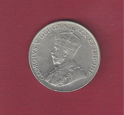 CANADA 1922   5 cents   UNC  Very nice coin
