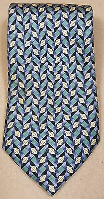 Cocktail Collection by Stonehenge Scotch Tie Green Purple Tan All Silk