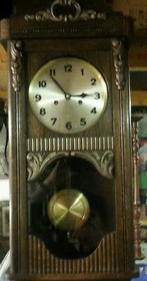 Lovely german Antique clock HAC.