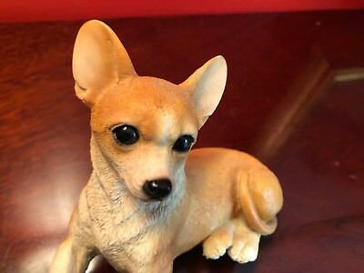 Castagna Figurine Chihuahua Puppy Dog Statute-Italy