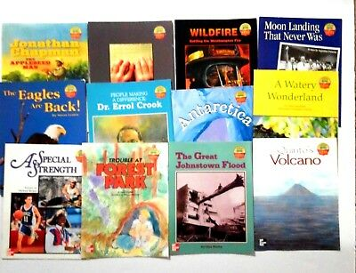 Lot of 43 leveled readers macmillan mcgraw hill first grade 999 lot of 12 science leveled readers grade 5 mcgraw hill homeschooling fandeluxe Images