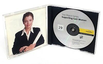 PhotoDisc SUPPORTING CAST: WOMEN Object Series 29 (Stock Photography Photo CD)