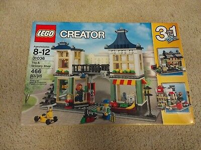 Lego Creator Set 31036 Toy Grocery Shop Complete W Instructions