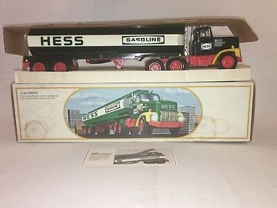 1984 Hess Toy Tanker Truck Bank