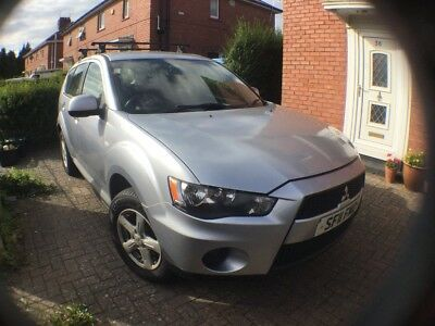 Silver Mitsubishi Outlander Priced To Sell