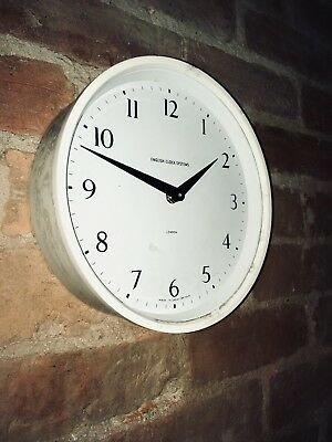 English Clock Systems Industrial Factory Station Clock