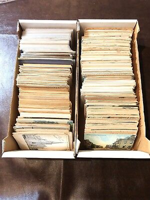 Lot of over 1000 Vintage Postcards Unsorted Mixed Lot #3