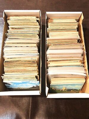 Lot of over 1000 Vintage Postcards Unsorted Mixed Lot #2