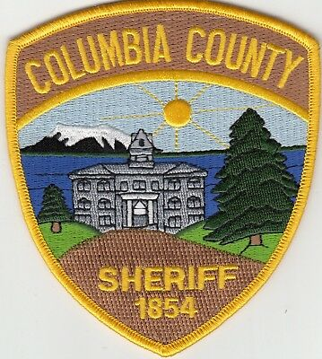 Columbia County Sheriff Oregon Or Police Patch
