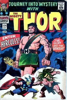 Journey Into Mystery #124  Thor, Zeus, 2nd Hercules-MARVEL SILVER AGE