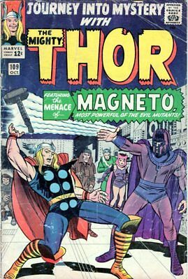 Journey Into Mystery Thor #109 (1964 Marvel) Magneto appearance NO RESERVE