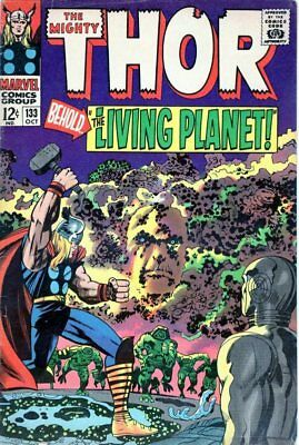 """Thor #133 """"1St Full Appearance Ego"""" (1966) Guardians Of The Galaxy 2"""