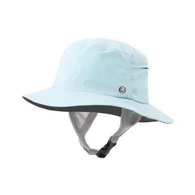 Ocean & Earth Kids Bingin Soft Peak Surf Hat In Aqua for Watersports 53cm/55cm