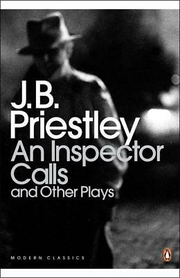 An Inspector Calls And Other Plays Book Theatre Script By Jb Priestley Paperback