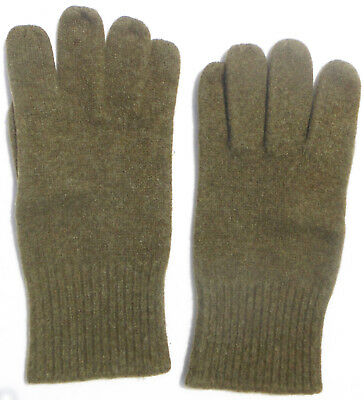 Mint Orig 1944 Wwii Us Army Od Wool Gloves