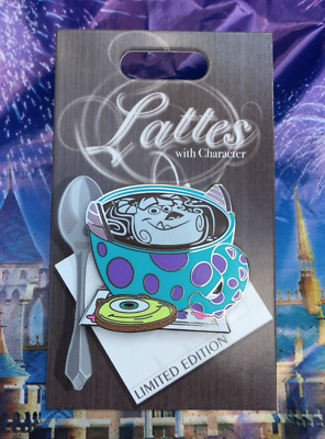 Disney Lattes With Character Monsters Inc. Mike Sulley Pin Month LE 3000 Coffee