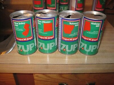 7 up  bicentennial can's    16 can's