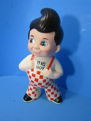 1973  Vintage Bob Big Boy Piggy Bank  Restaurant Pvc Rubber