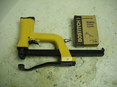Bostitch P50 Stapler (PNEUMATIC PLIER) with left-handed curve anvil