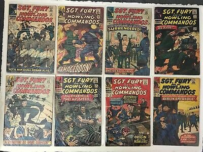 Sgt Fury and His Howling Commandos LOT, 26 issues, #28-53 (1966-1968)